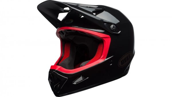 Transfer-9 Helm - black/hibiscus
