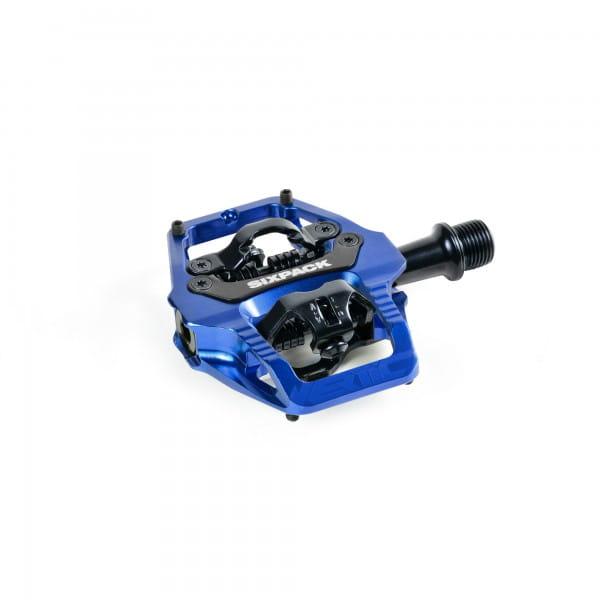 Vertic Trail Klickpedal - Q-Faktor 58,5mm - blue