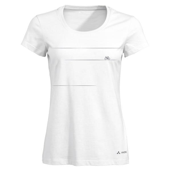 Women Cyclist - T-Shirt weiß