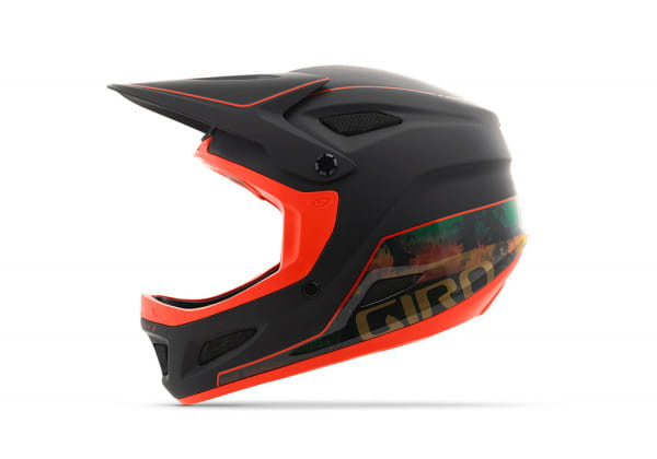 Disciple Mips DH Helm - Black/ Orange