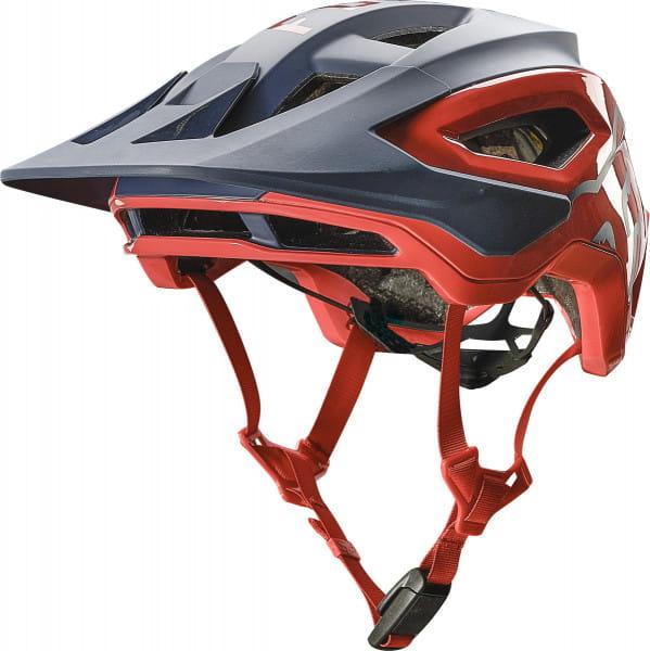 Speedframe Pro Helm - Blau/Rot