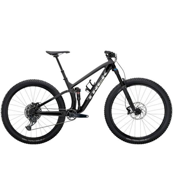 "Fuel EX 9.7 - Matte Raw Carbon/Gloss Trek Black 27,5""-Laufrad"
