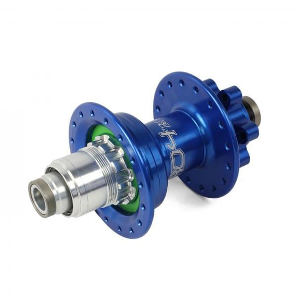 Pro 4 DH Hinterradnabe blau 32 Loch - XD-Freilauf - 7-fach