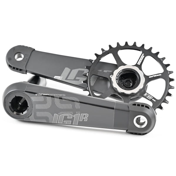 LG1 Race Carbon Kurbel - 73 mm - Schwarz