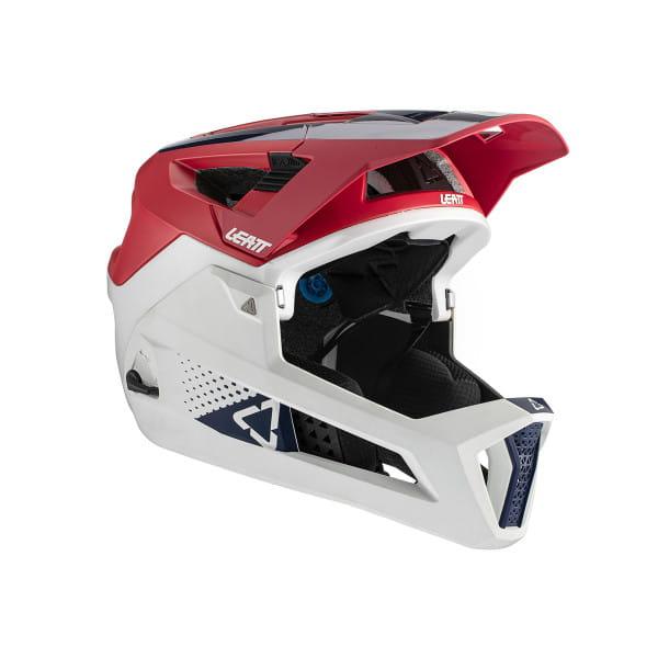 MTB 4.0 Enduro - Fullface Helm - Rot