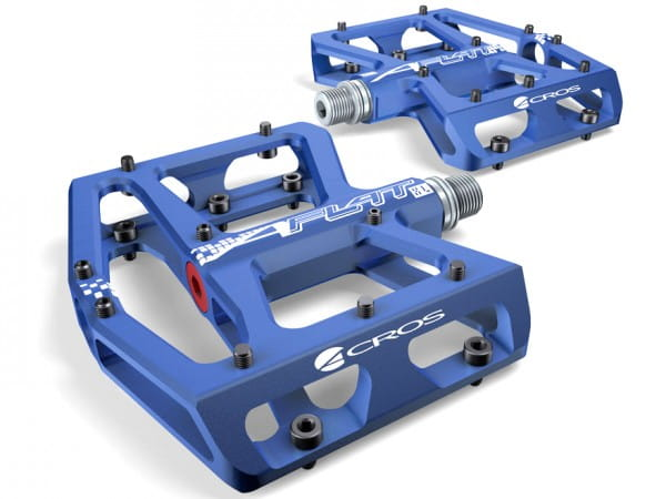 A-Flat XL Plattformpedal - blau