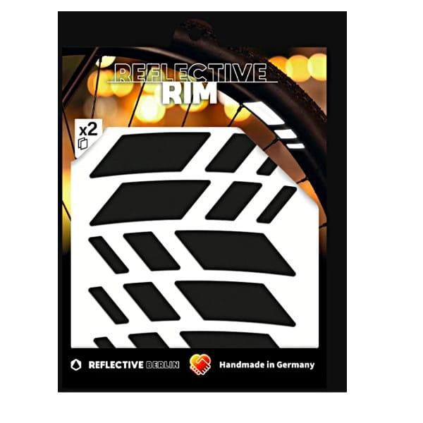 Reflective Rim Racer - Schwarz