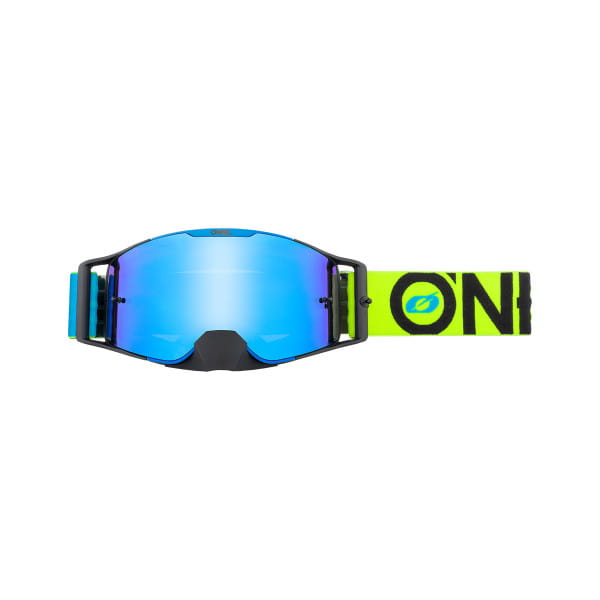 B-30 Bold - Radium Blau - Goggle - Blau/Neongelb