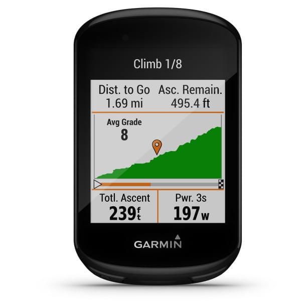 EDGE 830 - GPS-Fahrradcomputer - Schwarz