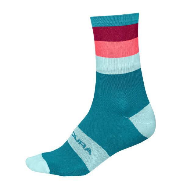 Bandwidth Socken - Blau/Pink