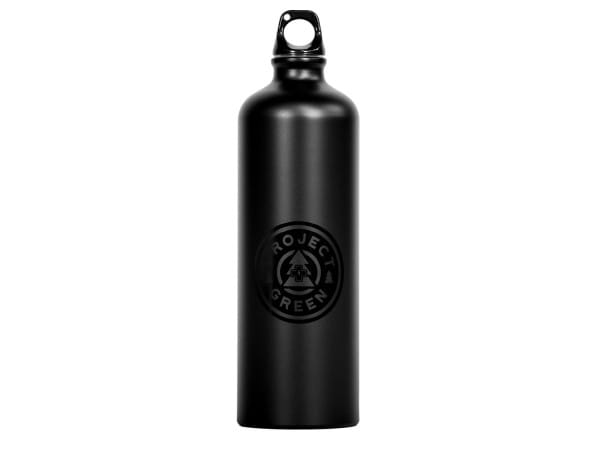 Trinkflasche Project Green Aluminium - Schwarz