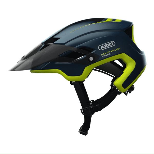 MonTrailer Fahrradhelm - Blau/Grün