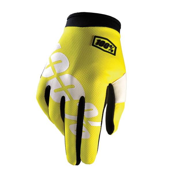 iTrack Handschuh - Neon Yellow