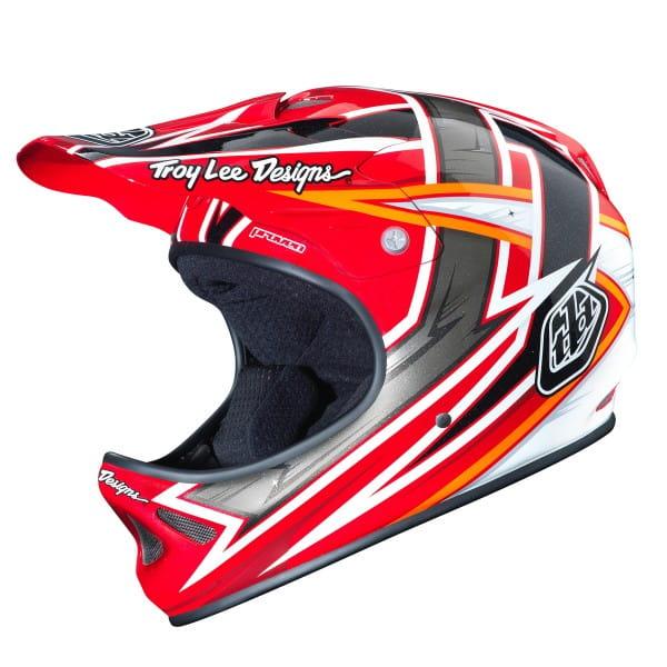 D2 Helmet Proven Red