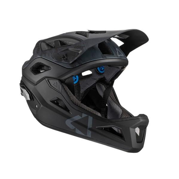 DBX 3.0 Enduro Helm - Schwarz