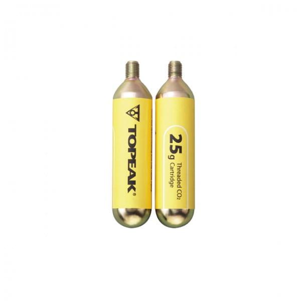 CO2 Ersatzkartuschen 2er-Pack 25g