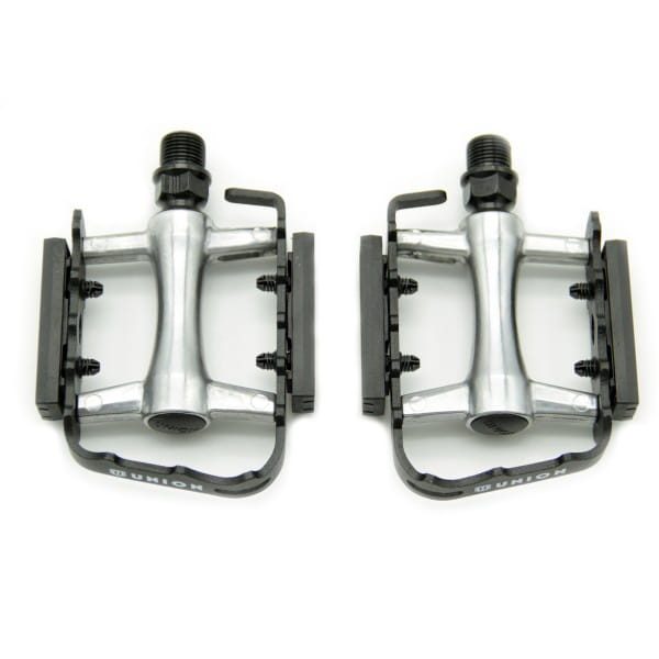 Classic MTB Light Pedals - Ball Bearings - Black