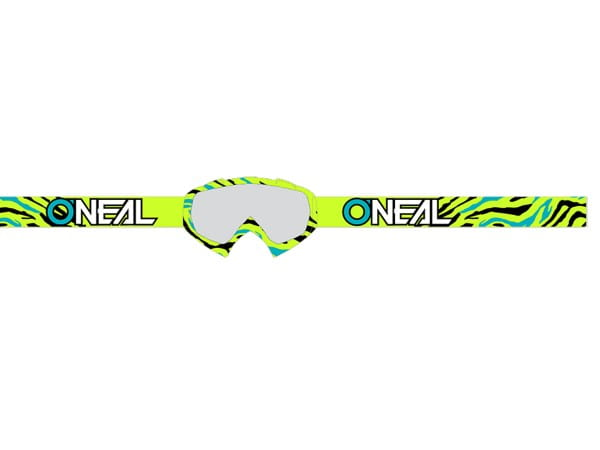 B10 Stream Goggle - neon yellow - Lens clear