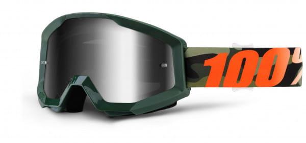 Strata MX Goggle - Huntsitan Mirror Lens