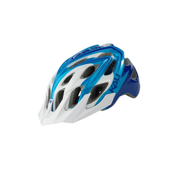 Chakra Plus Sonic Fahrradhelm - Weiß/Blau