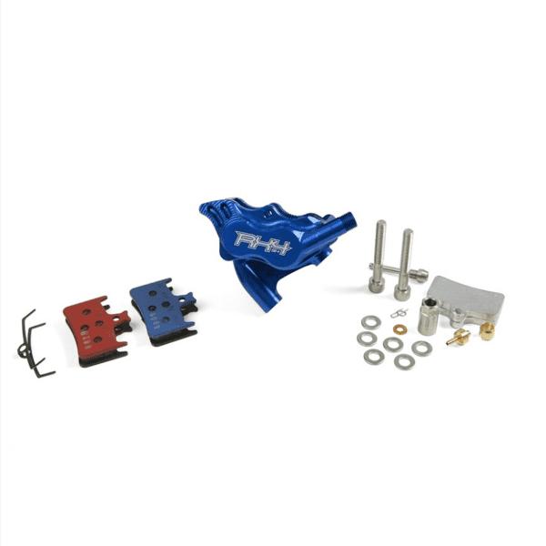 RX4 Brake Caliper Flatmount Complete rear - Shimano - Blue