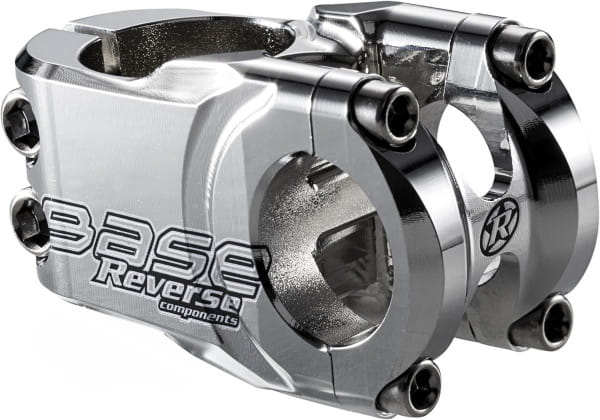 Base Vorbau - 25,4 mm - silber