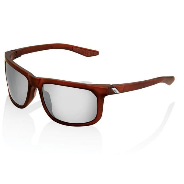 Hakan Hiper Brille gespiegelt - Rot