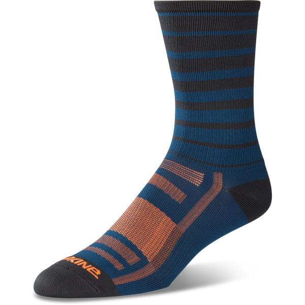 Singletrack Socken - Blau gestreift
