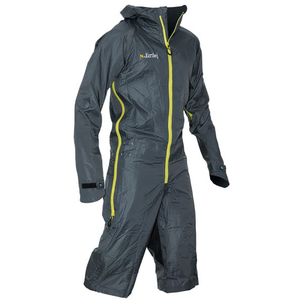 Dirtsuit Light Edition - Grau / Gelb