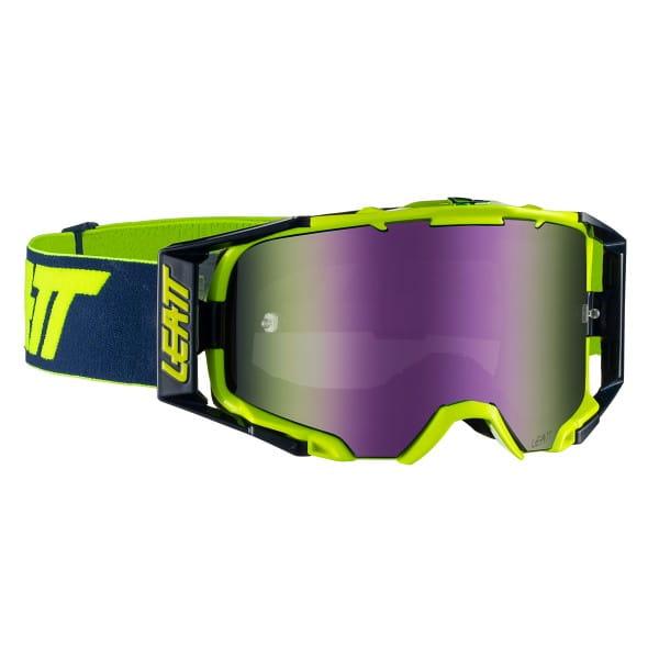 Velocity 6.5 Iriz Goggle Anti Fog Mirror Lens - Grün