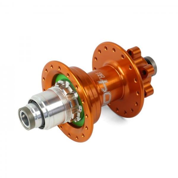 Pro 4 DH Hinterradnabe orange 32 Loch - XD-Freilauf - 7-fach