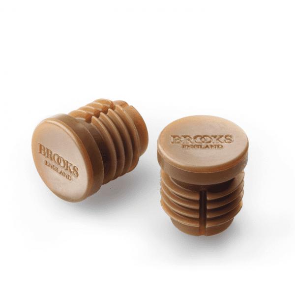 Lenkerendkappen für Bar Tape Cambium - Braun