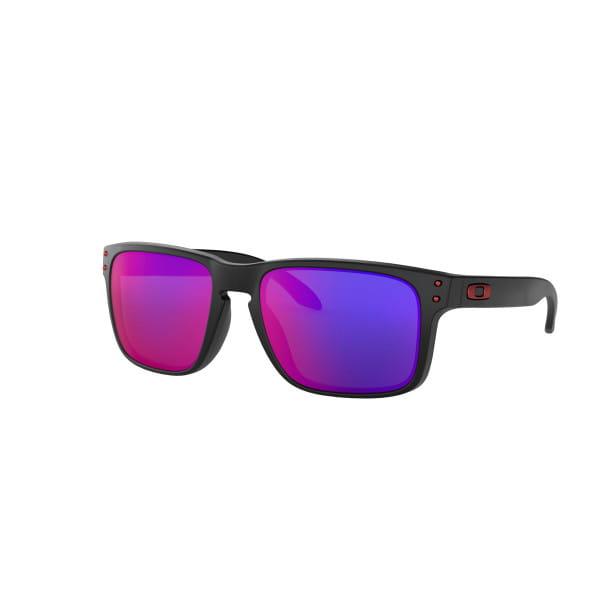 Holbrook Sonnenbrille Matt Schwarz - Positive Rot Iridium