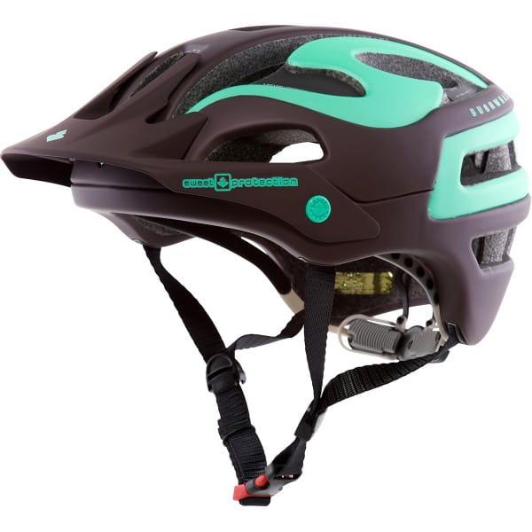 Bushwhacker Helm 2016 - Matt Ron Red/Mint Green