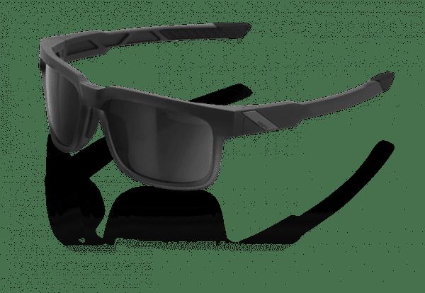 Type S Sonnenbrille - Smoke Lense - Soft Tact Black