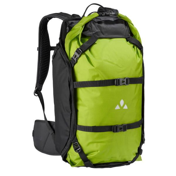 Trailpack - Rucksack schwarz/grün