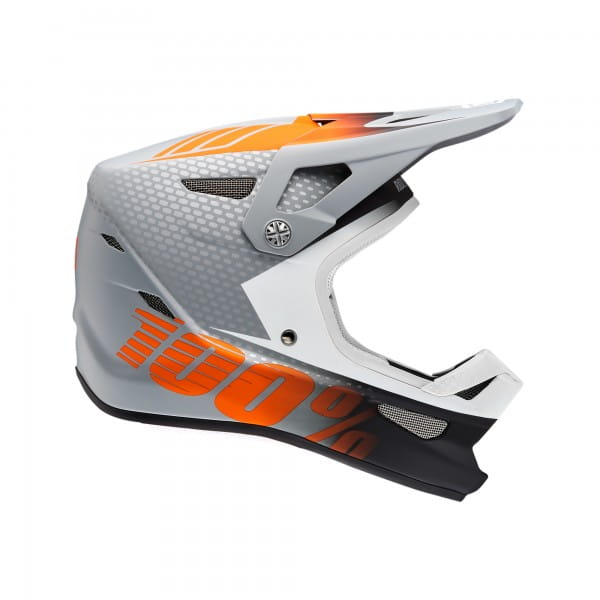 Status Helm - Grau/Orange