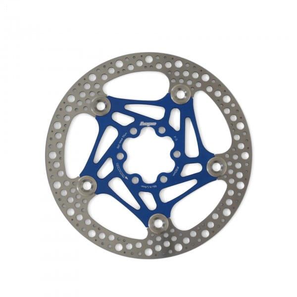 Road Rotor 160mm Bremsscheibe - blau