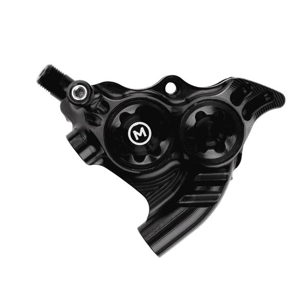 RX4+ Bremssattel Flatmount hinten - Mineralöl - Schwarz