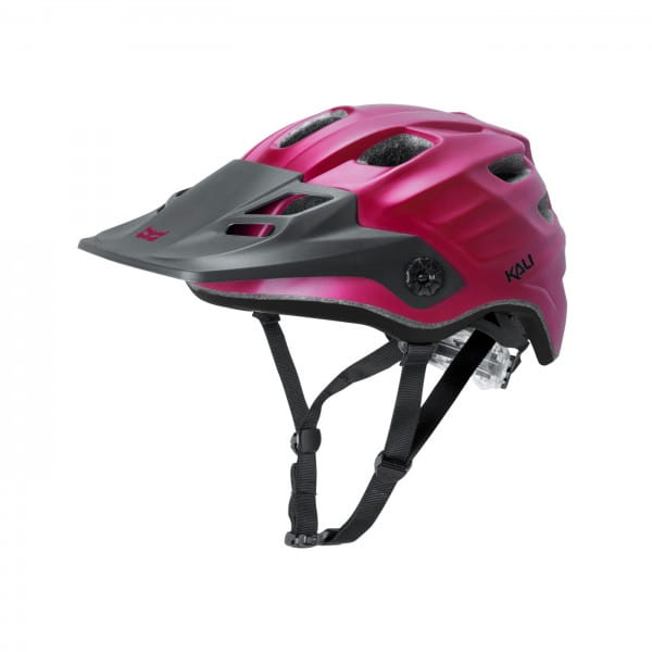 Maya All Mountain/Enduro Helm - bordeaux/black